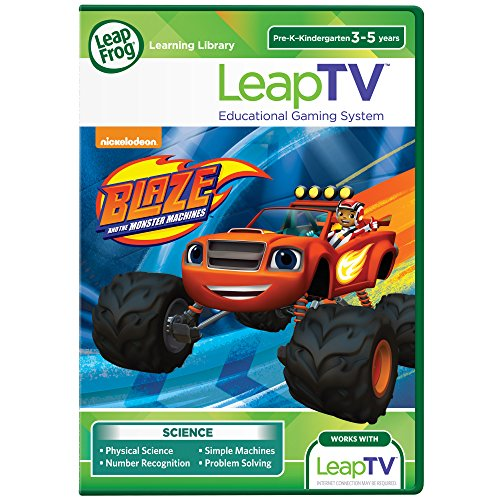 LeapFrog LeapTV Blaze and the Monster Machines Educational, Active Video Game by Leapfrog (Blaze Video)