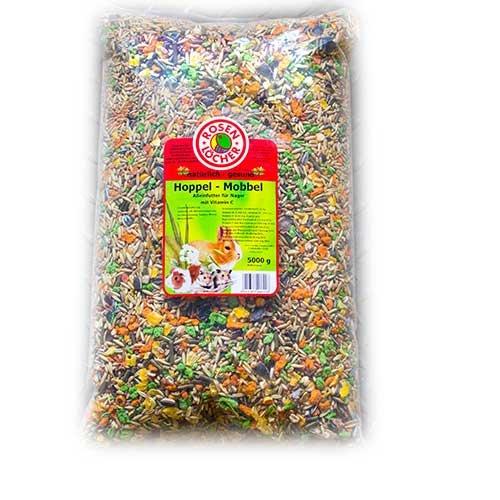 Rosenlöcher Hoppel Mobbel Futter für Nager 5 KG