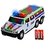 Frog Studio Home Toysery SUV Police Car With Lights And Sirens Bump And Go Super 3 AA Battery Included