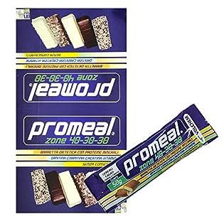 Volchem Promeal 12 Barrette Proteiche da 50 gr. per Dieta a Zona 40-30-30 GUSTO COCCO - 51H01 zvwML. SS315