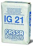 Intonaco di finitura per interni/esterni 30Kg IG21 Fassa - Colore: BIANCO