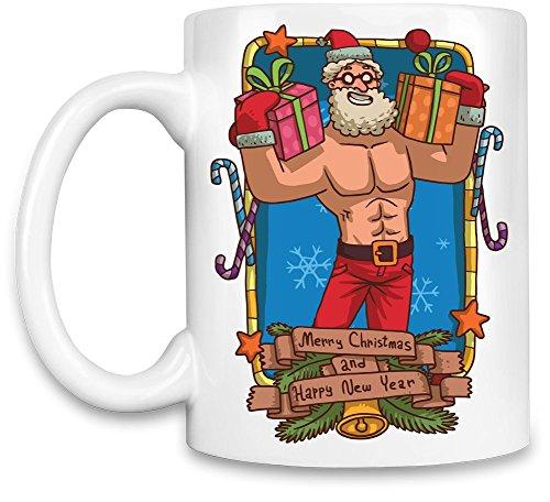 (Sexy santa Kaffee Becher)
