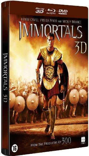 Bild von Krieg der Götter [Immortals] 3D Limited Steelbook Collection Version 2 [DVD - Blu-ray] [G2]