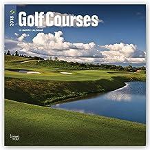 Golf Courses - Golfplätze 2018 - 18-Monatskalender: Original BrownTrout-Kalender [Mehrsprachig] [Kalender] (Wall-Kalender)