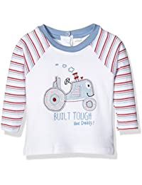 Pumpkin Patch Baby Boys' Long Sleeve Tractor Top Polo Shirt