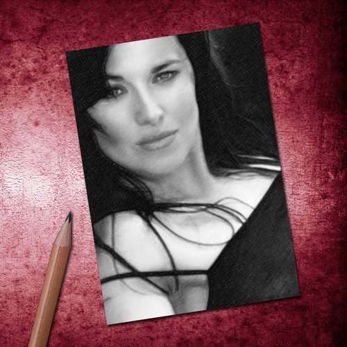 Xena Sand (Seasons LUCY LAWLESS - ACEO Sketch Card (Signed by the Artist) #js004)