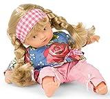 Götz 1987229 Mini-Muffin Roses Garden Puppe - 22 cm große Babypuppe, gemalte braune Augen, Blonde...