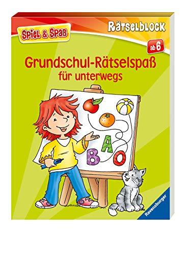 Grundschul-Rätselspaß für unterwegs (Spiel & Spaß - Rätselblock)