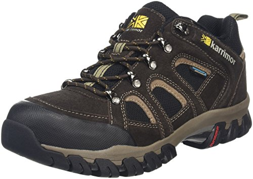 Karrimor Bodmin Low Iv Weathertite, Chaussures de Randonnée Basses Homme Marron (Dark Brown)