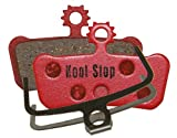 Kool Stop Disk Brake Pads X0 Trail, Elixir 7/9, Sram Guide R/RS/Rsc Bremsbeläge, Rot, One Size