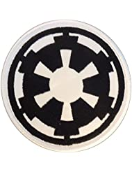 star wars galactic empire insigne imperial logo embroidered velcro cusson patch