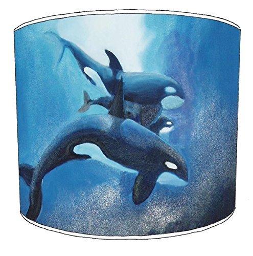 20,5cm Decke killer whale orca print Lampenschirme 2 -