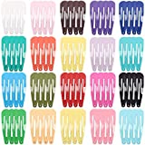 Schneespitze 80 piezas Horquillas Pelo NiñAhorquillas Horquillas Metal Infantiles Clip,20 Colores para Niñas Infantiles Accesorios para el cabello