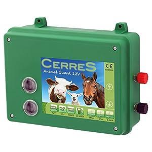 Cerres Weidezaungerät Elektrozaungerät 12V Animal Guard 3,0 Joule, Sehr schlagstark, Robust und witterungsbeständig, zur Wildabwehr, für Schafe, Pferde- und Rinderweiden (3,0 Joule)