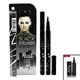 #8: GLAM21 Black Eyeliner With Laperla kajal