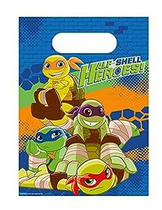 Amscan International9901318Half Shell Heroes - Bolsa de regalo