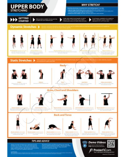 Upper Body Stretching – Fitness Planners