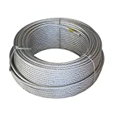 Wurko 12012008 - Cable trenzado (acero galvanizado, 4 mm)