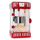 Klarstein Volcano Popcornmaschine Popcorn Maker  rot-weiß