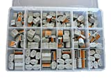 Wago Verbindungsklemme Sortiment 140 Stück gemischt Typ 222 - 412 , 413 , 415 + Kunstoffbox