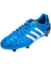 buy online 85356 bd60e adidas 11questra sg - Botas de fútbol con tacos azul Talla 40