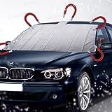 AMOS–Telo magnetico per parabrezza auto, universale, parasole, antineve, antighiaccio, antipolvere, antivento, con custodia