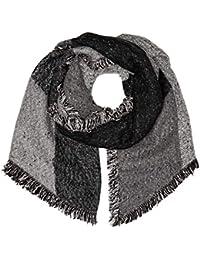 Levi s Assymetrical Fringe Wrap, Echarpe Femme, Gris (Noir Regular Grey 55), 0d2136755ee