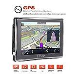 LESHP Navegador GPS para Coche 5'' Pantalla Táctil con FM 8GB/128M Actualización Gratuita de M