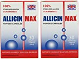 Allicin Max 30 Veg Caps (Pack of 2 - 60 Caps)