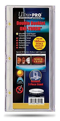 Ultra Pro Alle Sport alle Teams Karte Halter mit Ständer, Herren, 84015-UV, farblos, 185mm (Sammlerstücke Sport-card)