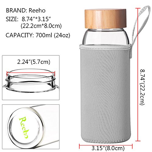 Reeho Glasflaschen