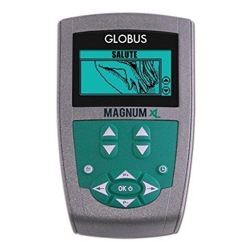 Globus magnum xl con 2 solenoidi soft - 400 gauss 26 programmi 2 canali trattamenti magnetoterapia