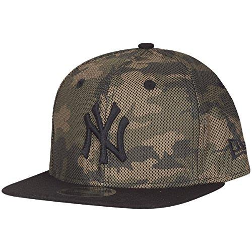 New Era Herren Caps / Snapback Cap Mesh Overlay camouflage M/L (Mlb-mesh-visor)
