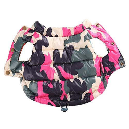 Hundemantel Warm Padded Mantel Herbst Und Winter Tragen Zwei Füße Daune Chihuahua VIP Plus Velvet Teddy Anzug H-M
