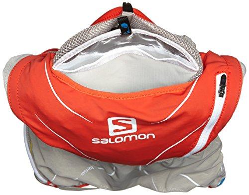 Salomon S Trinkrucksack Red/Aluminium