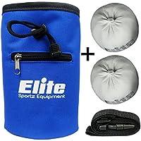 Elite Sportz - 2 Chalk Balls e gesso borsa per arrampicate, ginnastica, pesi e ancora di più - 100 % carbonato di magnesio Chalkballs