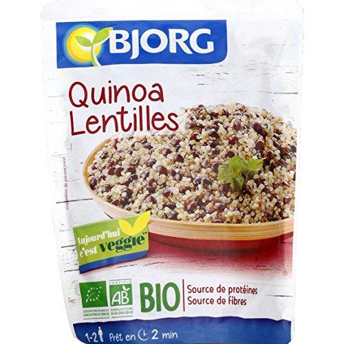 bjorg Quinoa Lentilles ( Prix unitaire ) - Envoi Rapide Et Soignée