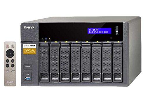 Qnap  TS-853A 1.6GHz 4GB ram 8-Bay NAS Bundle mit 4x 5TB WD50EFRX | 0721456170177