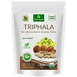 Triphala Presslinge 1000mg (120 oder 360 Stück) Ayurveda Königsfrüchte Amla (Amalaki), Hiritaki, Bibhitaki - Qualitätsprodukt von MoriVeda (120 Tabs)