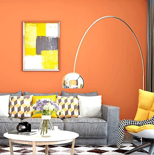 Hochwertige Vliestapete Reine Farbe Schlafzimmer Wohnzimmer Restaurant Tapete 10m * 53cm MIU-2