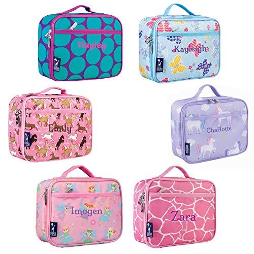 Teal Dot (Wildkin Lunchboxen für Mädchen, personalisierbar, Wildkin, Lunchboxen für Mädchen, personalisierbar Teal Dots)