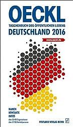 OECKL. Taschenbuch des Öffentlichen Lebens - Deutschland 2016 - Buchausgabe: 65. Jahrgang