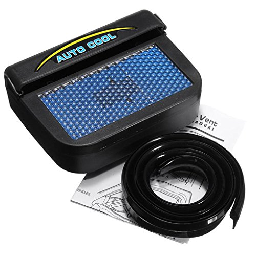 Auto Fan Cooler Solar Powered Car Window Windshield Auto Air Vent Cooling Fan Cooler for 2545655 Motor Regard - Rahmen Lüfter Motor