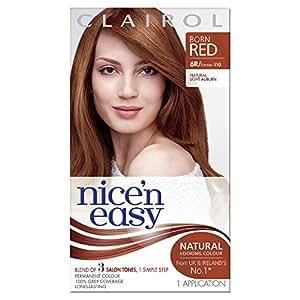 Clairol Nice'n Easy Permanent Hair Colour, 110 Natural Light Auburn
