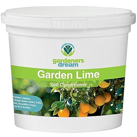GardenersDream - Garden Lime - Soil Conditioner Plant Food Garden