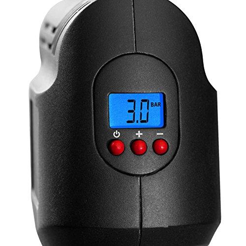 Genius A20001 Air Hawk Pro | 8 Teile Luftkompressor | Elektrische Druck-Luftpumpe | Inkl. Akku und Auto-Adapter | Neu - 3