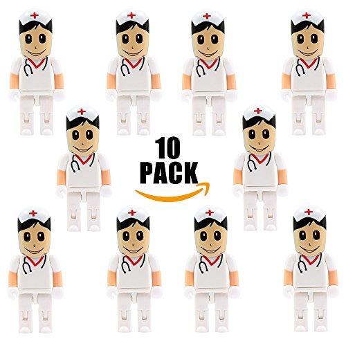 a-plus-10-stck-64gb-krankenschwestern-speicherstick-usb-kreativ-usb-flash-laufwerk