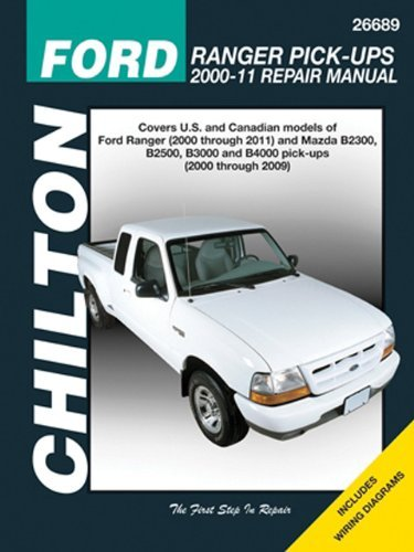 Chilton Total Car Care Ford Ranger Pick-ups 2000-2011 & Mazda B-series Pick-ups 2000-2009 (Chilton's Total Car Care Repair Manuals) by Chilton (2013-09-01) (Infinity Pickups)