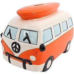 Hucha furgoneta Volkswagen, Naranja
