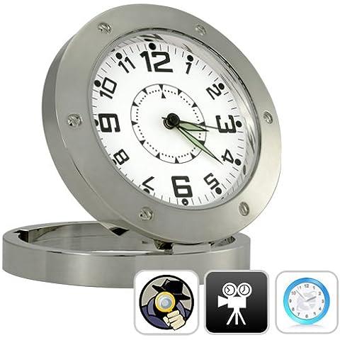 Reloj Mesa con cámara HD Detección de Movimiento, 5 Mpx y 8GB